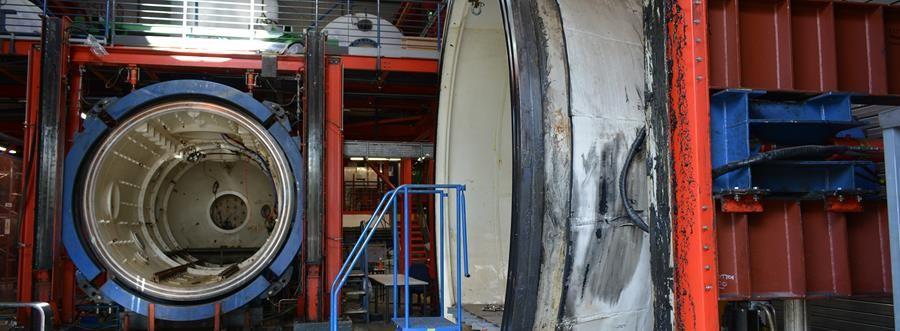 JFD Case study: submarine hull testing