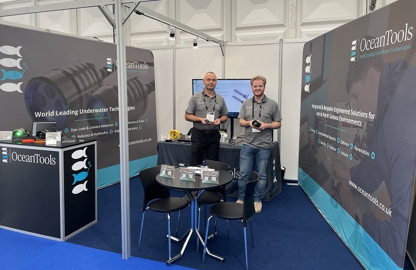 OceanTools launch the smallest subsea IP camera on the market at Ocean Business 2021