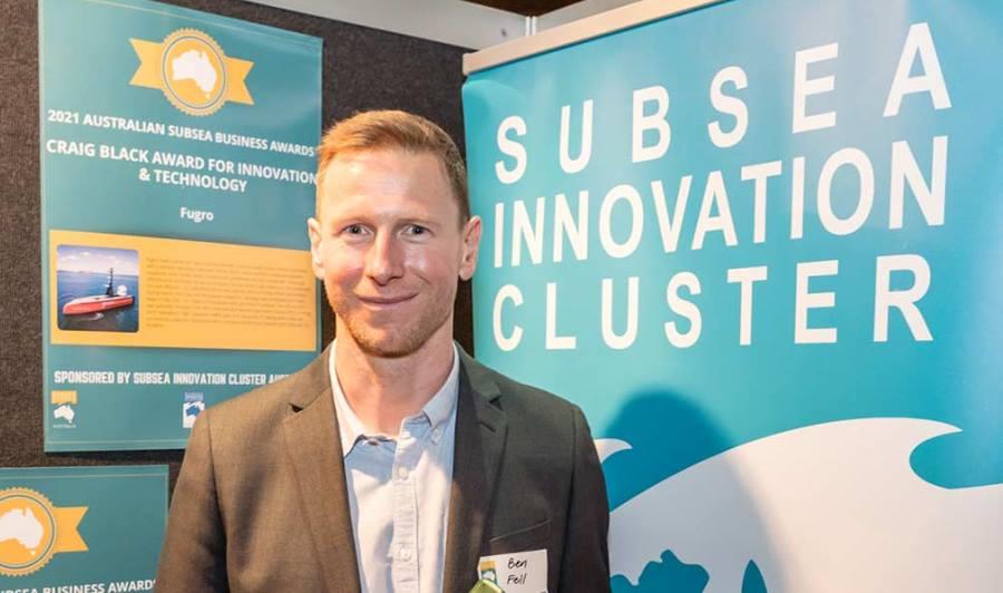 Fugro wins 2021 Australian Subsea Business Award for Innovation and Technology
