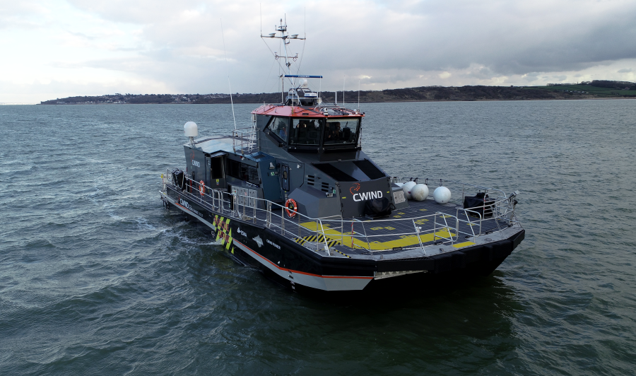 CWind launches CWind Pioneer, world's first hybrid surface effect ship