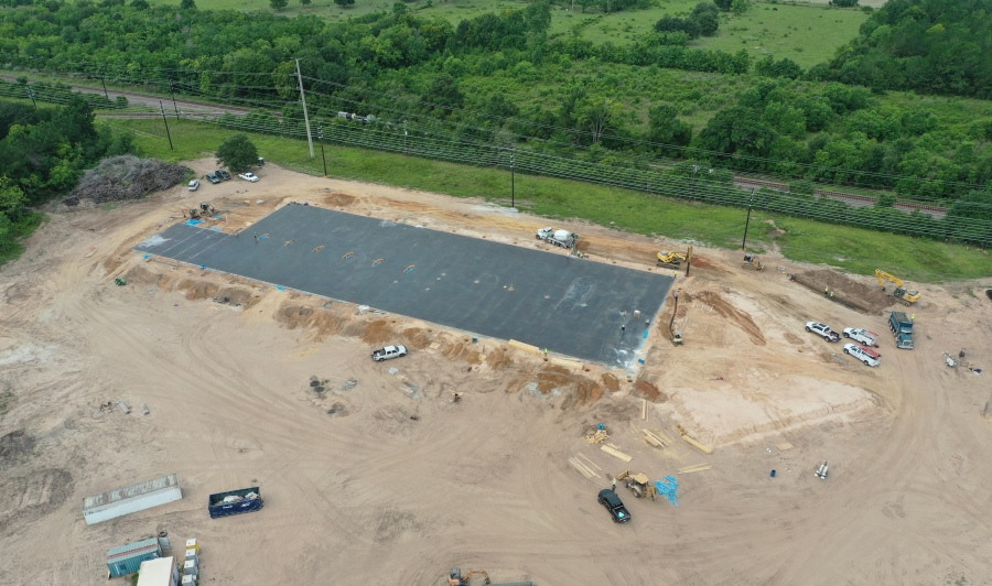 JDR begins construction of new US headquarters