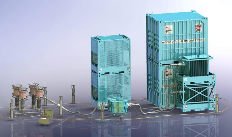 JDR adopts new resonant test technology from HIGHVOLT for 66 kV offshore windfarms