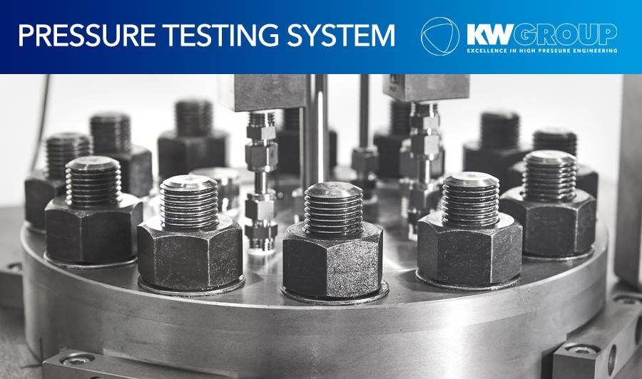 KW Group delivers pressure testing system for major energy provider