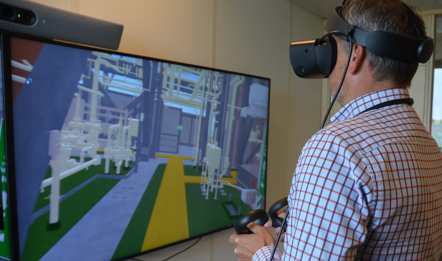 Neptune Energy pilots virtual reality technology developed for astronauts