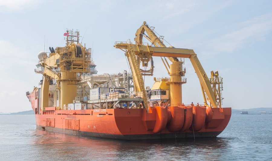 Global Offshore completes cable installation campaign at Danish Kriegers Flak offshore wind farm