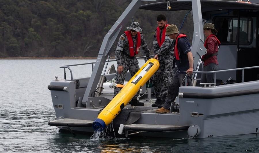 Sonardyne's Solstice MCM sonar now MINTACS compatible for Royal Australian Navy