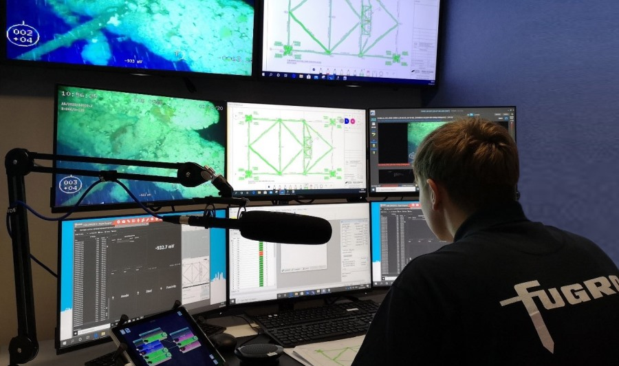 Fugro performs first fully remote platform inspection on UK continental shelf